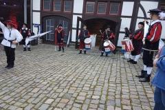 Trommler aud der Burg